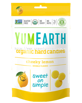 YUMEARTH-CHEEKY LEMON CANDIES