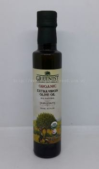 GREENIST OLIVE OIL-E/V-ORGANIC-250ML