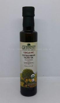 GREENIST OLIVE OIL-E/V-ORGANIC-250ML
