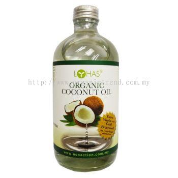 LH-COCONUT OIL*E/V ORGANIC-500ML