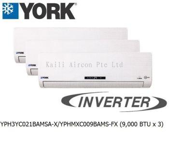 YPH3YC021BAMSA-X/YPHMXC009BAMS-FX (9000 BTU x 3)