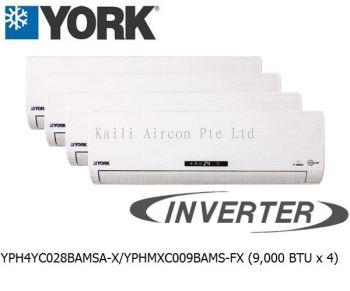 YPH4YC028BAMSA-X/YPHMXC009BAMS-FX (9000 BTU x 4)
