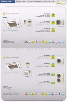 45000 BTU Ceiling Cassette