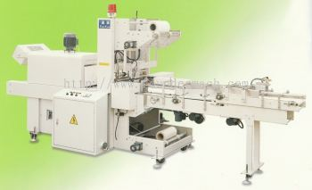 PVC Tape Accounting Grouping Sealing & Shrink Packaging Machine1