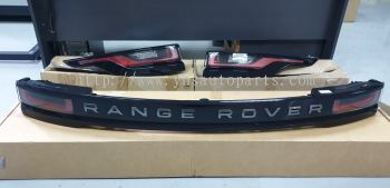 RANGE ROVER EVOQUE VELAR NEW MODEL FACELIFT LAMP SET