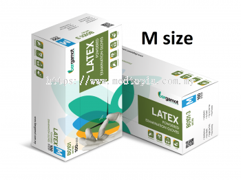 LATEX POWDERED EXAMINATION GLOVES (B0101)