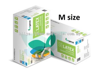 SE LATEX POWDER FREE EXAMINATION GLOVES (B0103)