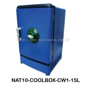 COOLBOX COOLER & WARMER CW1-15L Cool Box Dual Voltage Car Refrigerator DC 12V Portable Car Cool and Warm Electric Coolbox for Traveling and Camping Outdoor