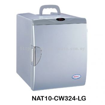 THERMOELECTRIC COOLER & WARMER CW324 Cool Box Dual Voltage Car Refrigerator DC 12V Portable Car Cool and Warm Electric Coolbox for Traveling and Camping Outdoor