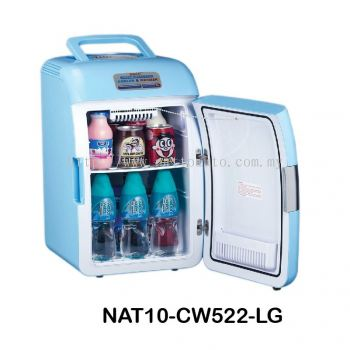 THERMOELECTRIC COOLER & WARMER CW522 Cool Box Dual Voltage Car Refrigerator DC 12V Portable Car Cool and Warm Electric Coolbox for Traveling and Camping Outdoor
