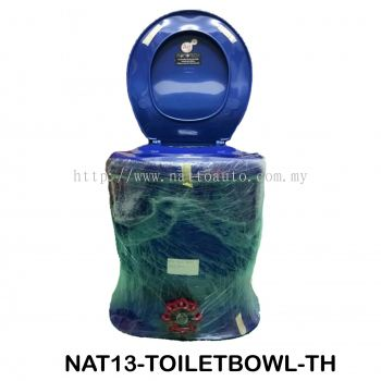 TOILET BOWL WITH FRESH WATER TANK