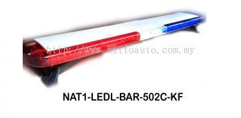 LED LIGHT BAR 502C (RED BLUE)