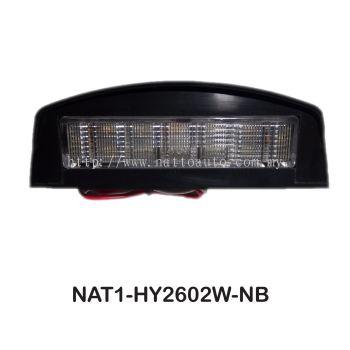 PLATE LIGHT 12 LED 10-30V