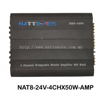 AMPLIFIER NATTO ABS 24V 4CHANNEL