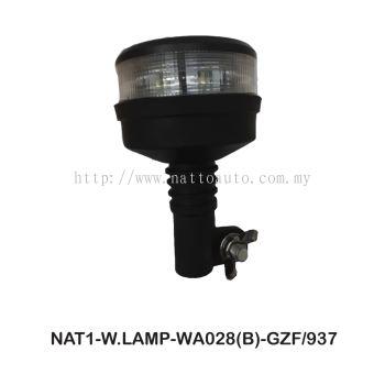 FORDA WARNING LAMP BLUE 10-30V