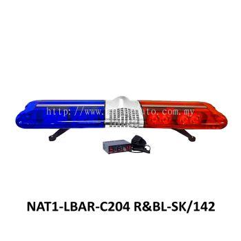 LIGHT BAR RED&BLUE C204