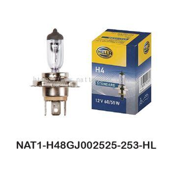 HELLA H4 Standard Bulb Xenon 24V 8GJ 002 525-253 70W