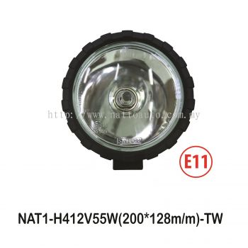 8OFF ROAD LIGHT(9906H4-C)CLEAR LENS