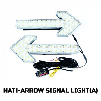ARROW SIGNAL TWO LIGHT(AMBER)-CTRL BOX