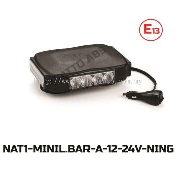 LED LIGHT BAR (AMBER)12-24V