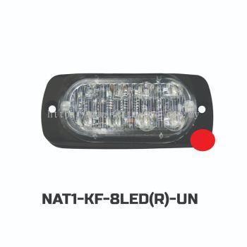 FLASH LIGHT 8LED(12-24V)RED