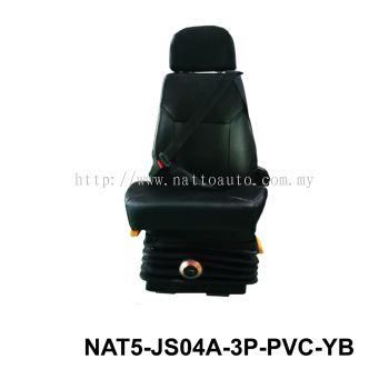 DRIVER SEAT 3POINT W-O ARM PVC