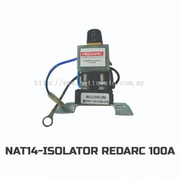 100AMP DUAL BATTERY ISOLATOR SOLENOID