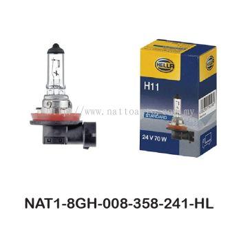 HELLA Bulb H11 24V 70W 8GH 008 358-241
