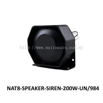 SPEAKER SIREN 200W