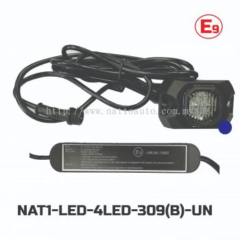 LED STROBE LIGHT(4LED)309 RED