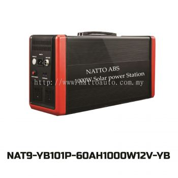 PORTABLE POWER STATION 1000W(AC220V-DC12V)