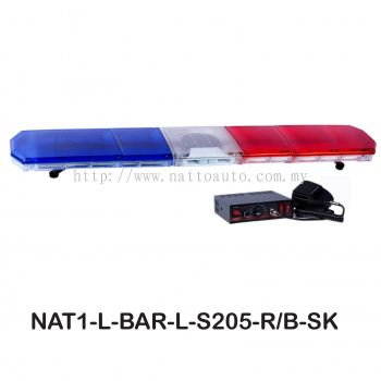 LIGHT BAR RED&BLUE S205- 6Feet