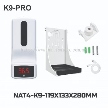 K9 PRO-Infrared Thermometer Automatic Sanitizer Dispenser