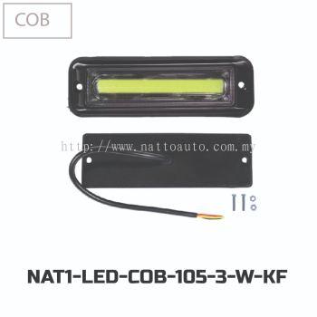 LED FLASHING COB 105-3(12V-24V)-WHITE