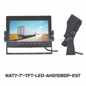 7'' INCH TFT-LED MONITOR AHD1080P(12-24V)