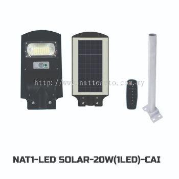 LED SOLAR LIGHT (P-G)20W(1LED)