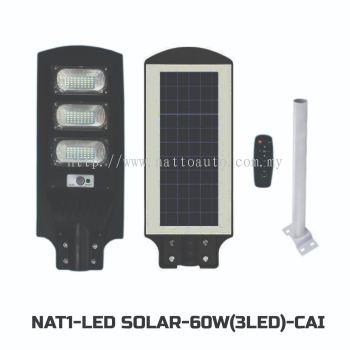 LED SOLAR LIGHT 60W(3LED)WARM WHITE