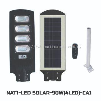 LED SOLAR LIGHT 90W(4LED)WARM WHITE