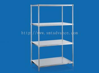 Stainless Steel Solid Shelving Series