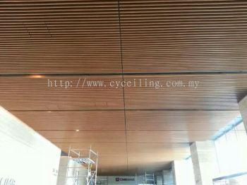 Aluminium Baffle Ceiling - Puchong