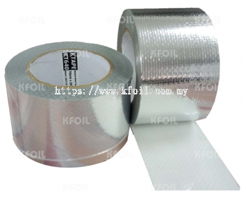 (KT640) Metalized Woven Film Tape