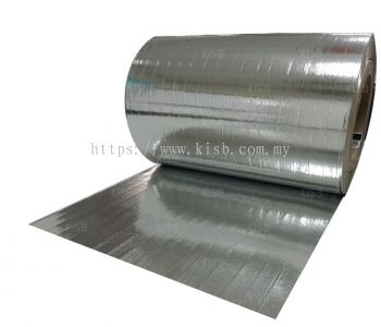 Double Sided Reflective Metalized Paper Film, Polyester Yarn Reinforced (K620)