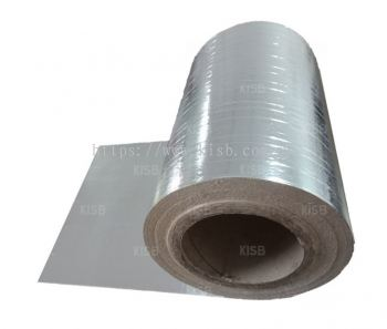 Double Sided Reflective Aluminium Paper Foil-Film, Polyester Yarn Reinforced (K726)