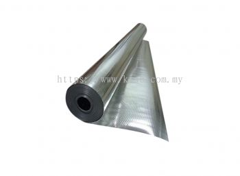 DOUBLE SIDED REFLECTIVE METALIZED WOVEN FILM (K650A)