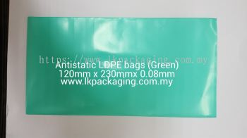 Antistatic LDPE/HDPE bags
