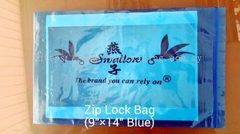 Zipper bags Blue