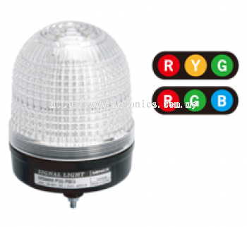 MS86M Series - LED Multi Color D86mm LED 3 Colors in 1 Signal Strobe Lights