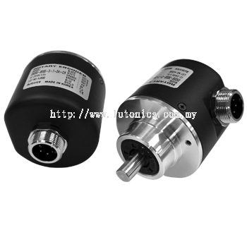 E50S-C Series - Diameter Ø50mm Shaft type Incremental Rotary encoder (Connector Type)