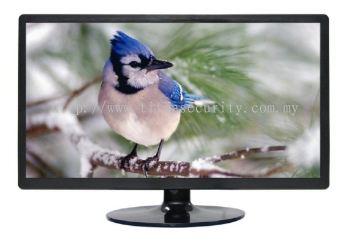 CCTV Monitor (plastic case, c/w 2 BNC)-TVI/CVI/AHD