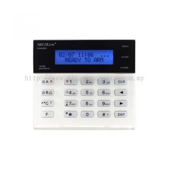 KM20B, Security system LCD keyboard (SECOLINK)